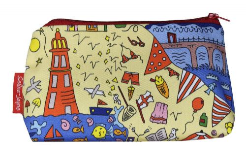 Selina-Jayne British Seaside Limited Edition Designer Cosmetic Bag
